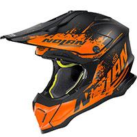 ノーラン N53 サバンナ オレンジ フラット ブラック