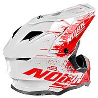 Nolan N53 Savannah Rosso Bianco