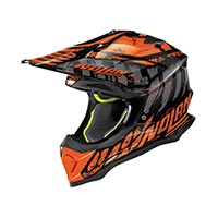 Nolan N53 Skeleton Offroad Helmet Black Orange
