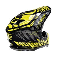 Nolan N53 Skeleton Offroad Helmet Black Yellow