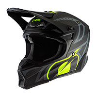 Casco Offroad O'neal 10srs Carbon Race Nero