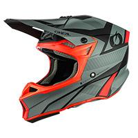 O Neal 10 Srs Hyperlite Compact Helmet Grey Red