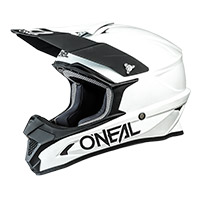 Casco O Neal 1 Srs Solid Bianco