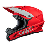 Casco O Neal 1 Srs Solid Rosso