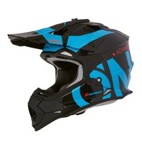 O'neal Casco 2 Series Rl Slick Nero Blu