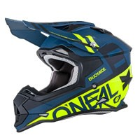 O'neal 2 Series Rl Spyde Helmet Black Yellow Hi Viz