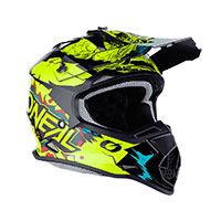 O Neal 2srs Youth Villain Helmet Yellow Kid