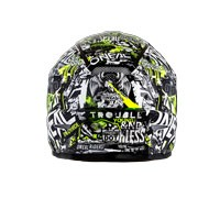 O'neal 3 Series Attack Helmet Black Yellow Hi Viz