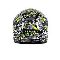 オニール3シリーズアタックヘルメットブラックイエローハイビーズ