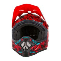 O'neal 3 Series Attack Helmet Black Red