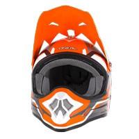 O'neal 3 Series Freerider Helmet Orange Grey