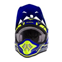 O'neal Casco 3 Series Freerider Blu Hi-zi Giallo