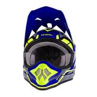 O'neal 3 Series Freerider Helmet Blue Hi-zi Yellow