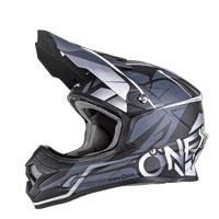 O'neal 3 Series Freerider Helmet Black Gray
