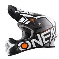 O'neal 3 Series Radium Helmet Black White