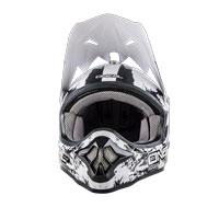 O'neal Casco 3 Series Shocker Nero Bianco