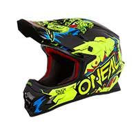 O'neal 3 Series Villain 2019 Helmet Neon Yellow