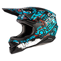 Casco O Neal 3srs Ride Nero Blu