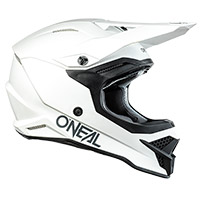 Casco O Neal 3srs Solid Bianco
