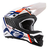 Casque O Neal 3srs Vision Blanc Noir Orange