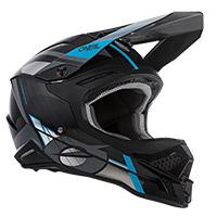 O Neal 3srs Vision Helmet Black Grey Blue