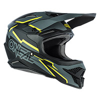 Casque O Neal 3srs Voltage Noir Jaune