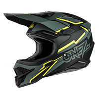 Casco O Neal 3srs Voltage Nero Giallo