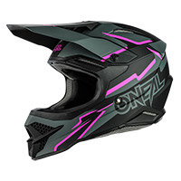 Casco O Neal 3srs Voltage Nero Rosa