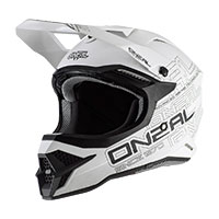 Casque O'neal 3srs Flat 2.0 Blanc