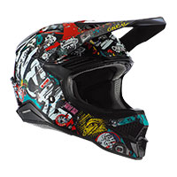 Casco O'neal 3srs Rancid 2.0 Multicolor