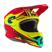 Casque O'neal 3srs Riff 2.0 Rouge Jaune