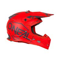 O'neal Casco 5 Series Hexx 2019 Rosso - 4