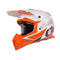 O'neal 5 Series Trace 2019 Casque Blanc Orange