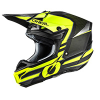 Casco O Neal 5srs Polyacrylite Sleek Giallo