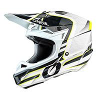 O Neal 5srs Polyacrylite Sleek Helmet White Grey