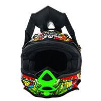 オニール7シリーズクランクヘルメットマルチカラーブラック