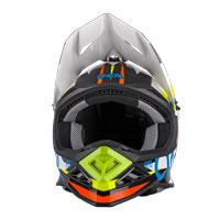 O'neal 8 Series Aggressor Helmet White Blue
