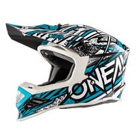 O'neal 8 Series Synthy Helmet Blue White