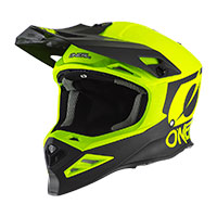 Casco Offroad O'neal 8srs 2t Giallo