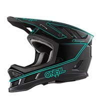 O'neal Casco Blade Charger Nero Blu Teal