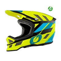 O'neal Blade Synapse Helmet Blue Yellow