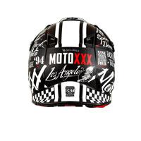 O'neal Casco Moto Xxx Torment Nero Bianco
