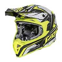 Premier Exige Qx Y Helmet Yellow Black Gray