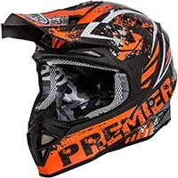 Premier Exige Zx 3 Casque Orange