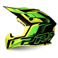 Progrip Ap71 Offroad Helmet Yellow Black