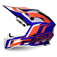 Progrip Ap71 Offroad Helmet Orange Blue