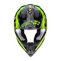 Casco Scorpion Vx-16 Air Soul Nero Verde