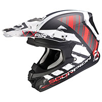 Casco Scorpion Vx-21 Air Urba blanco rojo