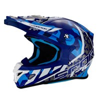 Scorpion Vx-21 Air Furio Blue White