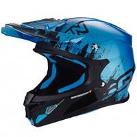 Scorpion Vx-21 Air Mudirt Black-light Blue